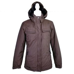 COLUMBIA XCO RUCHED SIDES INSULATED COAT  VGC
